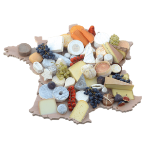 Plateau carte de France